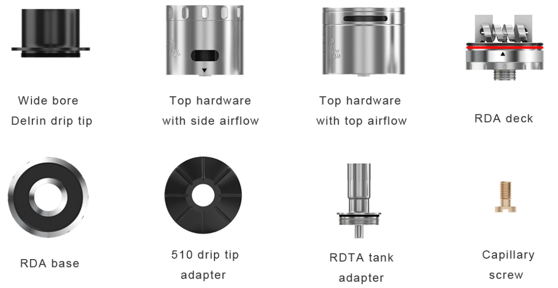 Aspire Quad-Flex Power Kit Accessories