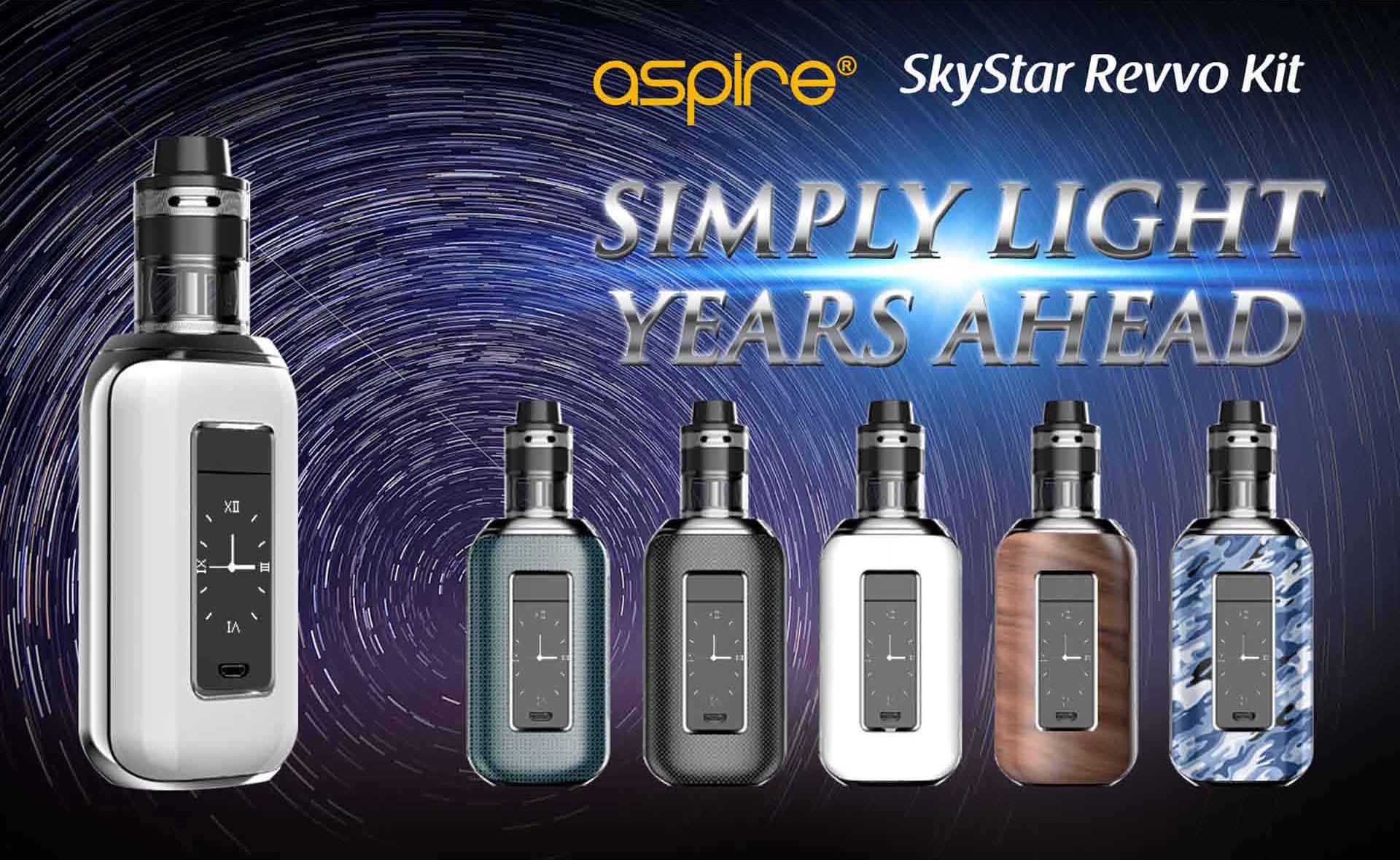 Aspire SkyStar Revvo Kit Banner