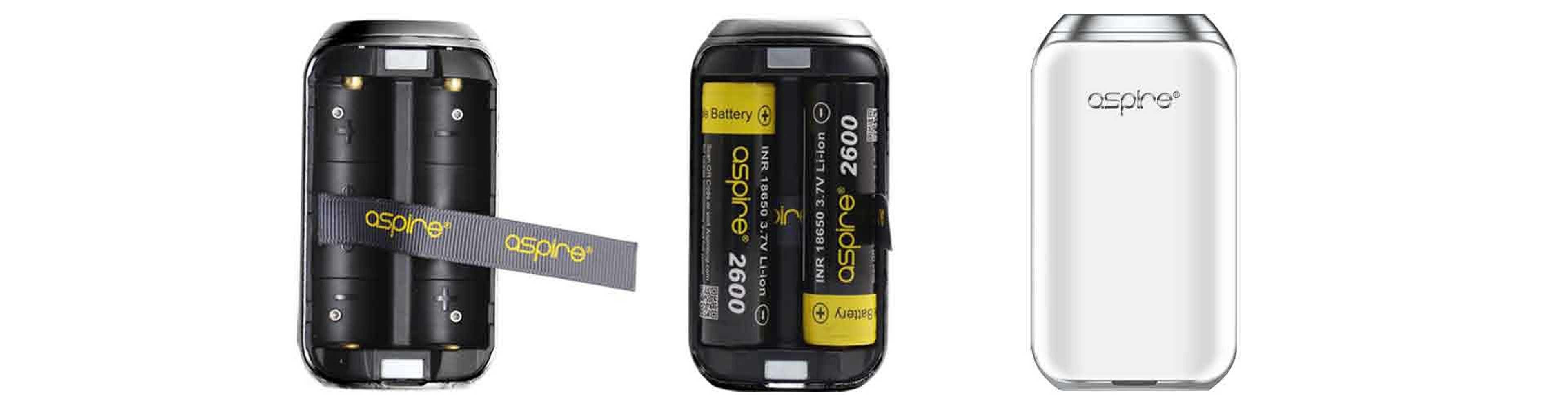 Aspire SkyStar Mod Battery Installation