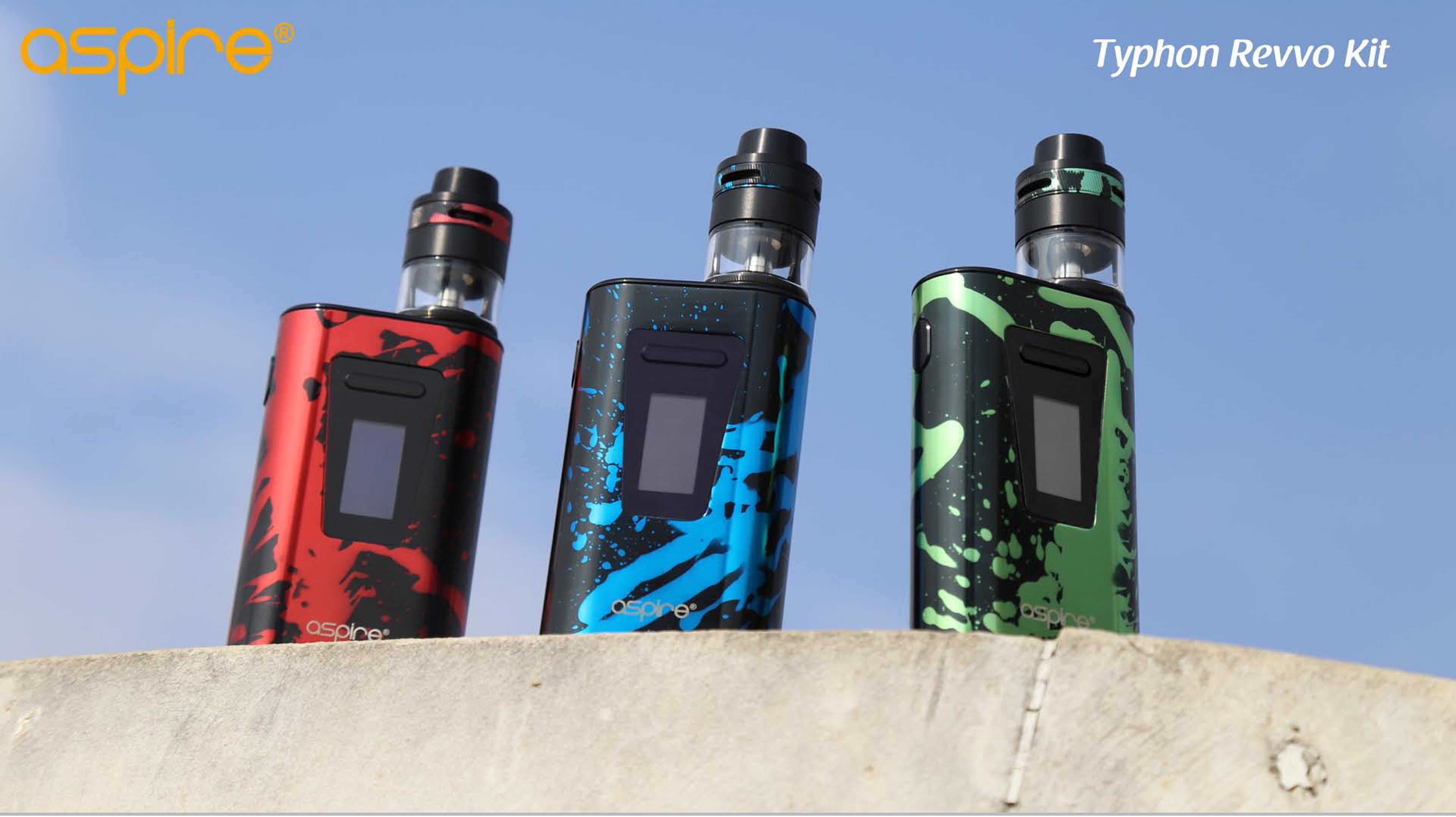 Aspire Typhone Revvo Kit Components View