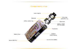 aspire Puxos Components View