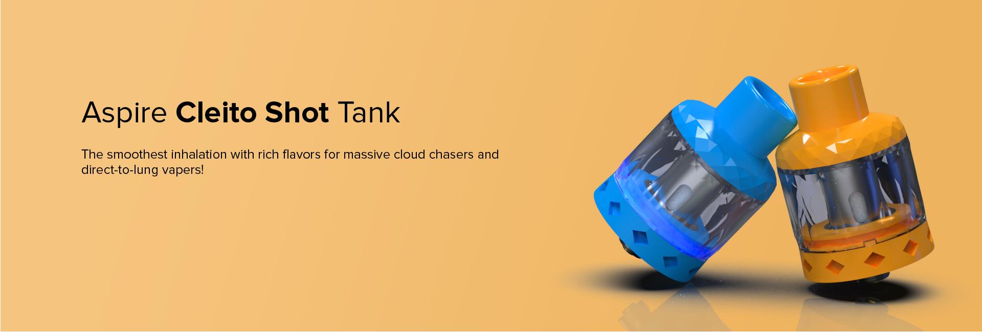 Aspire Cleito Shot Tank