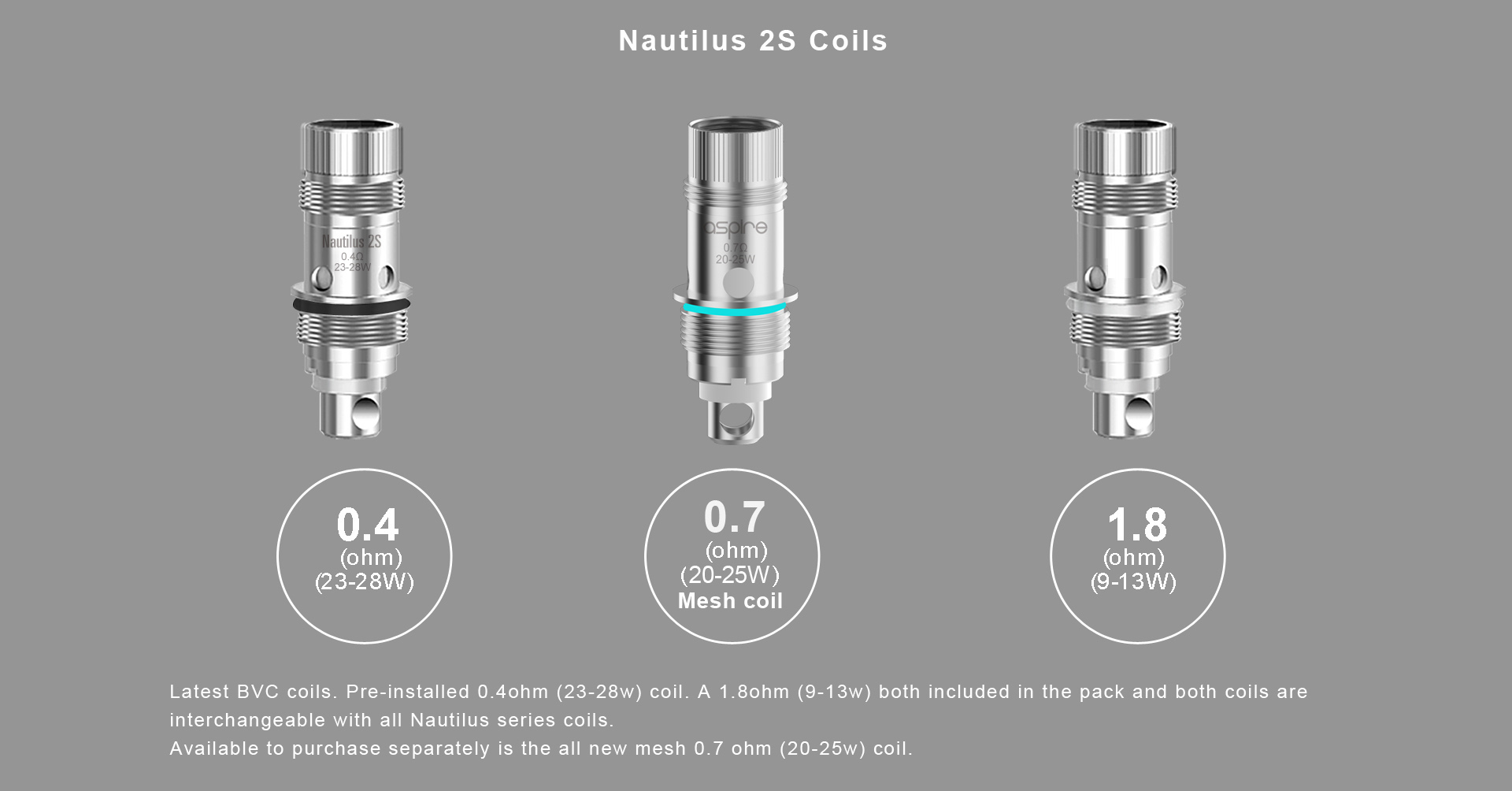 Aspire Nautilus Mini Coils