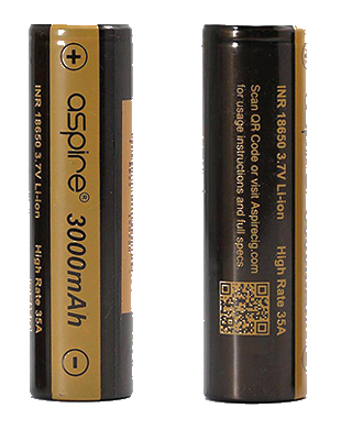 Aspire 18650 Battery - 3000mAh